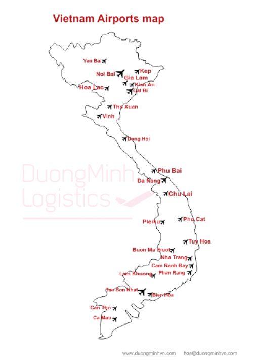 Bản đồ cảng hàng không Việt Nam Tiêu đề Sản phẩm có sẵn