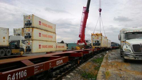 sự kết hợp giữa công ty Dương Minh Logistics ,công ty Cát lái logistics và tổng công ty đường sắt Việt Nam  Tiêu đề Sản phẩm có sẵn